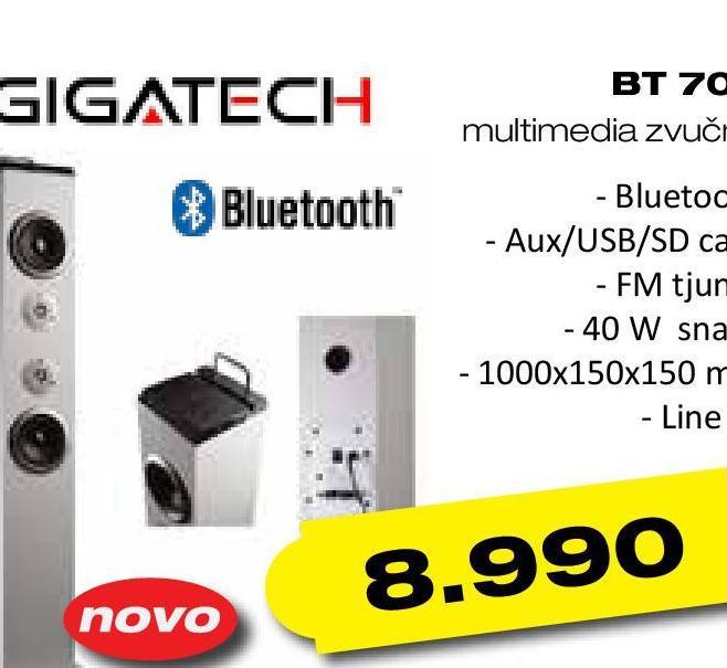 Zvučnici 2.0 BT 700