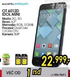 Mobilni telefon OT 6012d Idol Mini