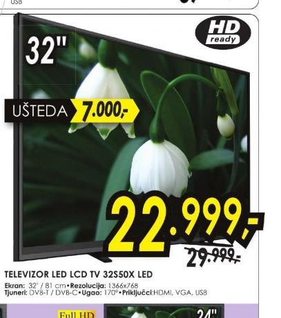 Televizor LED TV 32S50X