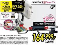 3D televizor LED LCD 47LA790V