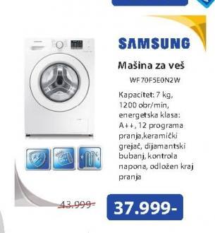 Mašina za pranje veša WF70F5E0N2W