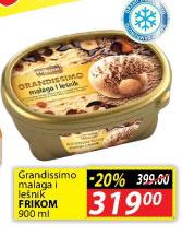 Sladoled malaga i lešnik