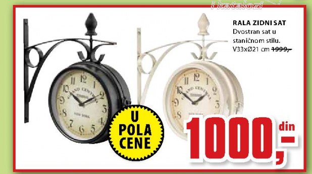 Zidni sat Rala