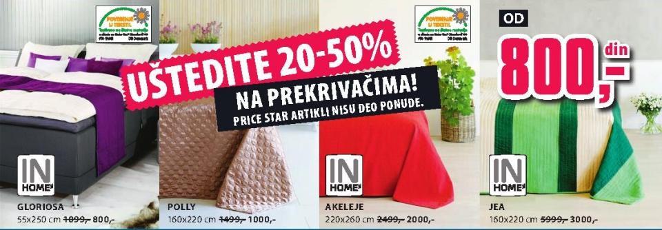 Prekrivači 20-50%