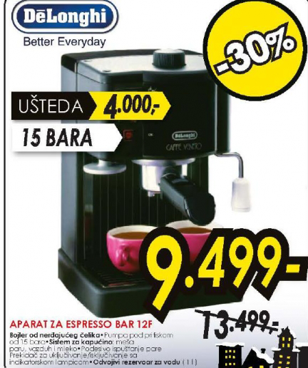Aparat za Espresso BAR 12F