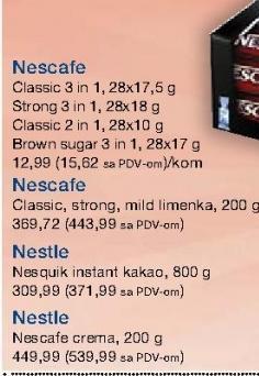Kafa instant 3u1 brown sugar