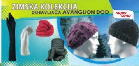 Zimska kolekcija Avanglion