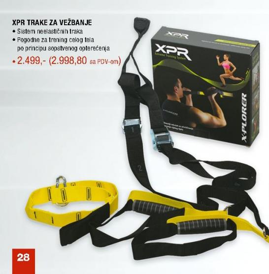 XPR trake za vežbanje