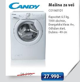 Mašina za pranje veša CO10651D1