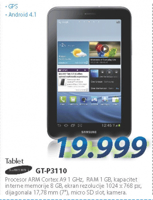Tablet GT-P3110