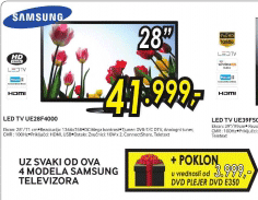LED TV UE28F4000 + DVD E350