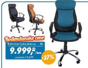 Kancelarijska stolica Laura