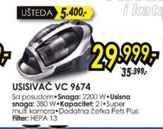 Usisivač VC 9674