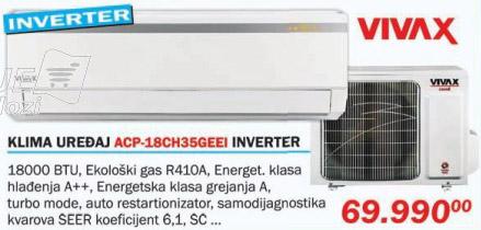 Klima uređaj Acp-18ch35geei Inverter