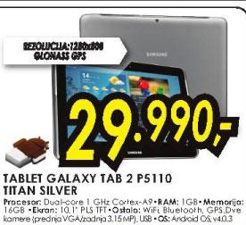 Tablet Galaxy P5110 TAB2
