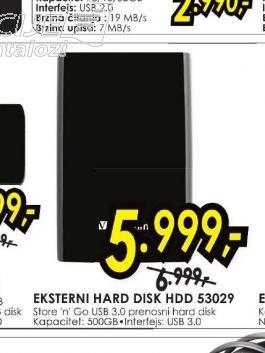 Eksterni Hard Disk HDD 53029