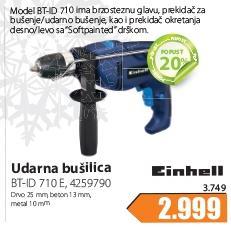 Električna Udarna Bušilica Bt-Id 710 E