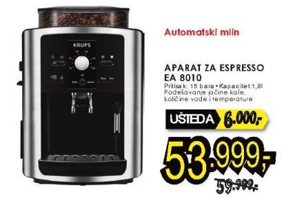 Aparat za espresso Ea 8010 Krups