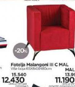 Fotelja Malangoni III C MAL