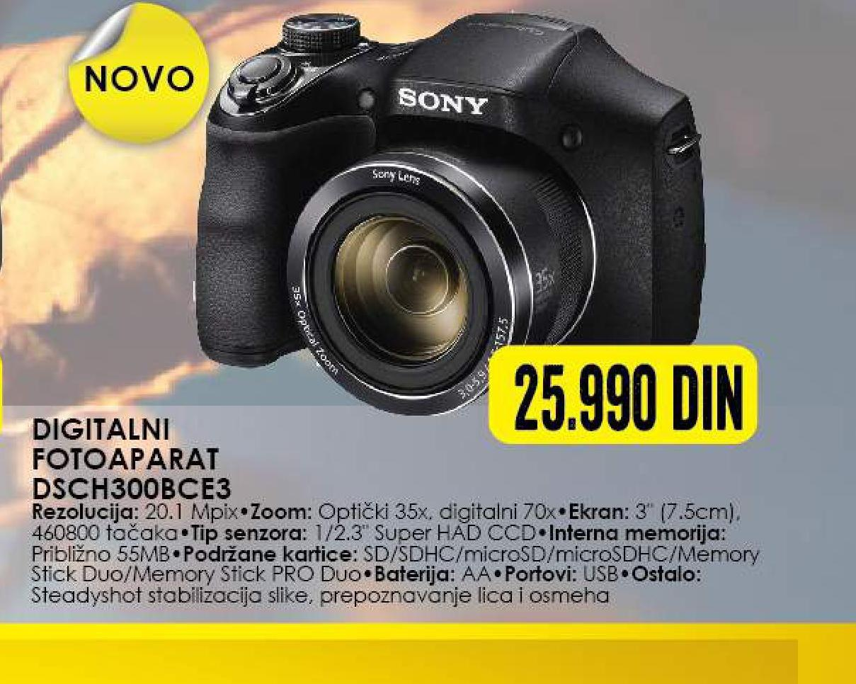 Digitalni fotoaparat DSCH300BCE3