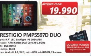 Multipad PMP5597D Duo