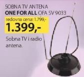 Sobna tv antena OFA SV9033