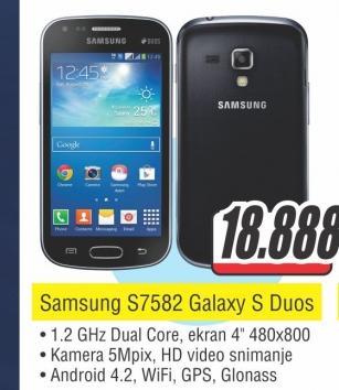 Mobilni Telefon S7582 GALAXY S Duos