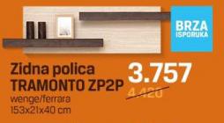 Zidna polica Tramonto ZP2P