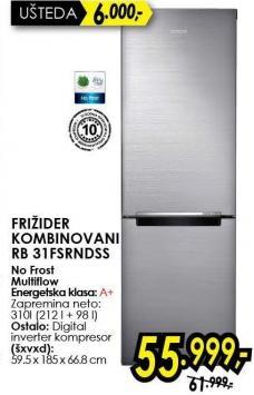 Kombinovani frižider Rb31fsrndss