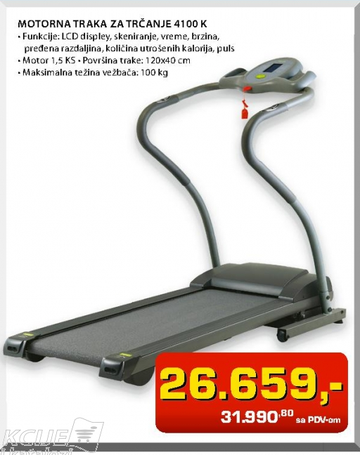 Motorna traka za trčanje 4100 K