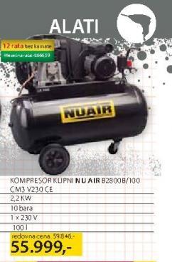 Kompresor Nuair B2800B/1500 CM3V230C