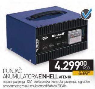 Punjač akumulatora Afen10