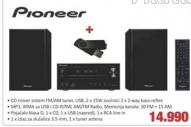 Mini Linija Pioneer X-HM11-K + Poklon USB 8GB