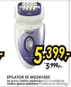 Epilator ES-WD24V503