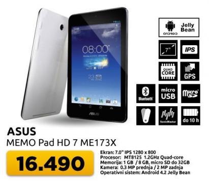 Tablet Memo Pad HD 7 ME173X