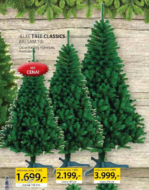 Jelka Tree Classic Balsam Fir 155cm