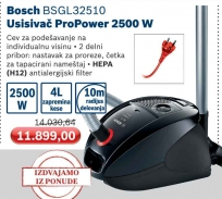 Usisivač ProPower Bsgl 32510