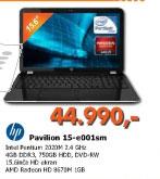 Laptop Pavilion 15-e001sm