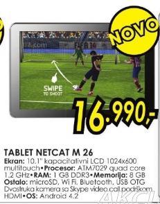 Tablet Netcat M 26