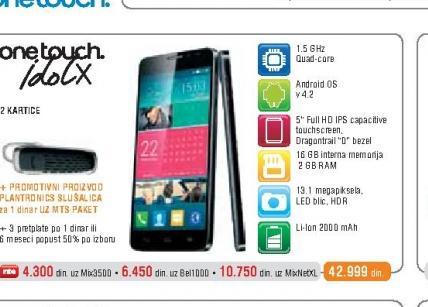 Mobilni Telefon IdolX