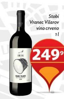 Crveno vino Vranec Vilarov