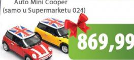 Igračka auto Mini Cooper