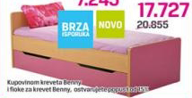 Fioka za krevet BENNY , dečija soba