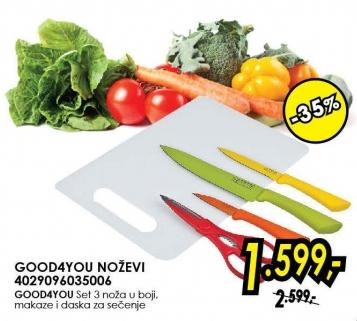 Set noževa Good4you 4029096035006