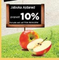 10% popusta na Ajdared jabuku