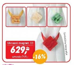 Ukrasni magnet za zavese i dekore