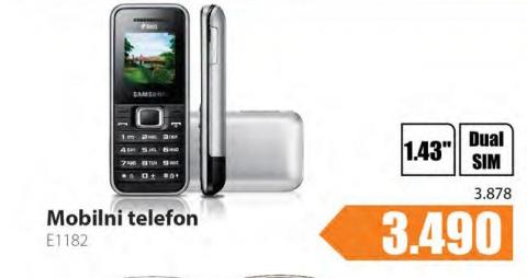 Mobilni telefon E1182