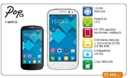Mobilni telefon Pop C5