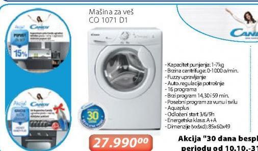Mašina za pranje veša CO 1071