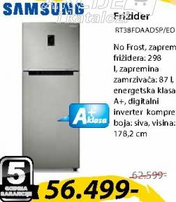 Frižider kombinovani RT38FDAADSP/EO